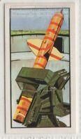"""""""TALOS""""  Land Based Nuclear Missile Vintage Trade Ad Card"""