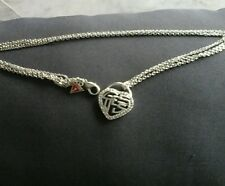 Collier coeur guess