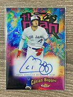 CAVAN BIGGIO #32/99 2020 TOPPS FINEST THE MAN AUTO BLUE JAYS
