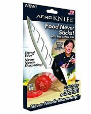 Aero Knife Aeroknife  NEW Never Needs SHARPENING Food Never Sticks AS SEEN ON TV