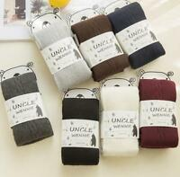 Women Winter Spring Warm Stockings Warm Wool Tights Pantyhose Seamless Socks GW