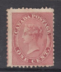 """Canada MINT NG Scott #14 1c Queen Victoria  """"First Cents""""   HCV $600"""