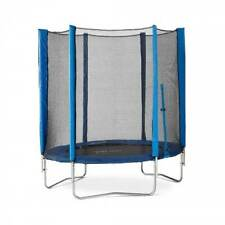 Plum 6ft Round Trampoline Blue Junior Safety Net