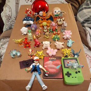 Pokemon Figure Lot of 33 Tomy.