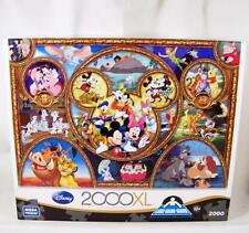 NEW Disney Classics 2000XL Piece Mega Puzzle Complete Sealed Mickey Ears Alice +