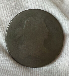 1800 Large Cent, Draped Bust Scarce Early Date US Copper Circulated Condition