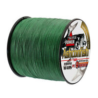 Super Strong PE Braided 300M 500M  Fishing Line 6LB-100LB Multifilament PE Lines