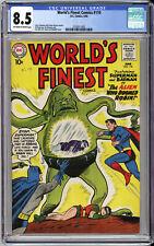 WORLD'S FINEST COMICS #110 CGC 8.5 - BATMAN, SUPERMAN - ALIEN COVER - 1960