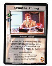 BABYLON 5 CCG Shadows SENATOR YOUNG