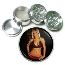London Pin Up Girls D8 Theme Aluminum Herb Grinder 63mm 4 Piece Hand Mueller