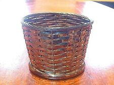 Vintage Gorham Silver Plated Basket YC120 Wine Bottle Holder