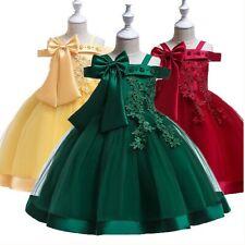 Kinder Mädchen Kleid Prinzessin Abendkleid Tutu Festkleid Geburtstagskleid