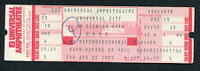 Original 1979 Cher Unused Concert Ticket Universal City Take Me Home Tour