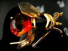 DANIEL SWAROVSKI CRYSTAL FIRE~OPAL BEE RETIRED NEW IN BOX!!