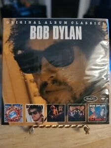 Bob Dylan-Original Album Classics 5 CD Box Set.