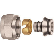12mm  EUROCONE CONNECTOR for UFH manifold 12mm x 1.6mm x 10  Multi pex pipe