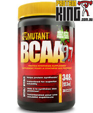 MUTANT BCAA 9.7 GREEN APPLE 30 SERVES BRANCHED CHAIN AMINO ACIDS MUSCLE RECOVERY