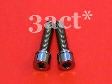 2 - M5 x 22mm Titanium Bolt w/ Ti Spacer fit FSA, Thomson, Bontrager, Giant Stem