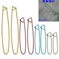 4 Sizes Aluminum Stitch Holders Pins Knit Knitting Needles Crochet Hooks Kit NEW