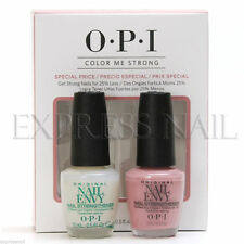 OPI COLOR ME STRONG - Nail Envy Original + Hawaiian Orchid Duo Pack .5oz #SRGA5