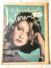Andy Warhol's INTERVIEW Magazine Jodie Foster Grace Jones 1977