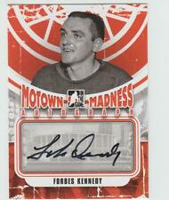 2012-13 ITG MOTOWN MADNESS Forbes Kennedy AUTOGRAPH CARD SIGNED