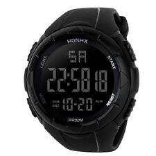 HONHX Luxury Men Analog Digital Military Army Sport LED Waterproof Wrist Watch