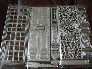 Set of Door Cutting Dies - works with carnation crafts - UK Seller Fast Post