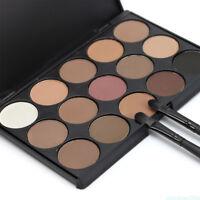 Cosmetics Makeup Eye Shadow Palette Matte Glitter Eyeshadow Palette 15 Colors LK