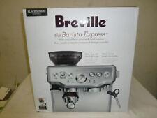Breville the Barista Express Automatic Espresso Machine Black Sesame