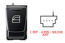 Smart Fortwo 451 02.2007>08.2015 Pulsante Alzavetro Anteriore Sx/Dx 4pin