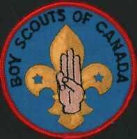 Boy Scouts of Canada Badge   Vintage Scout Patch   D2.1524