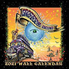 GRATEFUL DEAD - 2021 WALL CALENDAR - BRAND NEW - MUSIC NMR21901