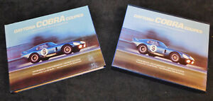 Peter Brock DAYTONA COBRA COUPE Book SIGNATURE EDITION 1 of 400 Carroll Shelby