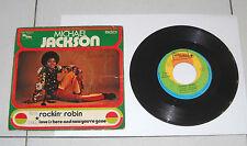 "Disco 45 Giri MICHAEL JACKSON Rockin' Robin - Love is here 7"" - 1972 Italy"
