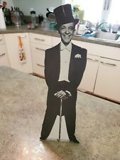 """Vintage 18"""" Cardboard Stand Up Display FRED ASTAIRE A&M Accessories Calif RARE"""