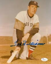 Ted Williams Signed Authentic Autographed 8x10 Photo JSA #Z32115