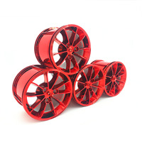 Technic Wheels Tires Car Rims 42056 42083 42096 Building Blocks Bricks MOC