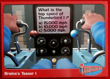 THUNDERBIRDS - Brains's Teaser 1 - Card #65 - Cards Inc 2001