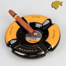 New Fine Round COHIBA 4 Cigars Ceramics Cigar Maduro 5 Ashtray Cigarette Tins