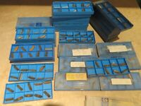 8 POUNDS Scrap 304 New Pieces CARBIDE INSERTS Victor Tool & Grinding