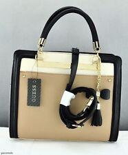 New Trend GuEsS Limited Handbag Ladies Annalisa Bag Taupe Satchel Tote