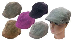 Kids IVY Newsboy Duckbill Cabbie Children Boy Girl Corduroy Fabric Ivy Hat Cap