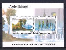 2000 - REPUBBLICA FOGLIETTO AVVENTO 2000 VARIETA' NUOVO