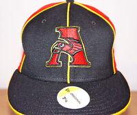 NEW ERA BASEBALL FLAT PEAK CAP, 5950 FITTED HATS, ATLANTA HAWKS 59FIFTY BRIM