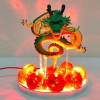 Dragon Ball Z Shenron Led Crystal Balls Action Figures Toy Anime display