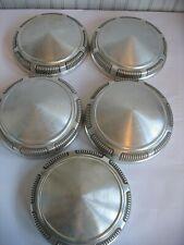1968-1972  DODGE/ PLYMOUTH  Aluminum Dog Dish Cap LOT(5)