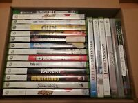 XBOX360 GAME LOT! (21) Assasins Creed + Guitar Hero #2,3 + FarCry + Red Dead Red