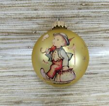 M J Hummel Ball Little Boy Whistling Christmas Tree Holiday Ornament Collector