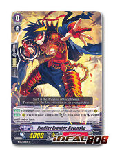Cardfight Vanguard  x 4 Prodigy Brawler, Kotensho - BT16/105EN - C Pack Fresh Mi